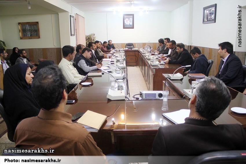 اولین جلسه هم اندیشی مسئولان روابط عمومی سرخس