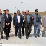 بازديد نماینده وزارت امور خارجه از سد دوستي سرخس