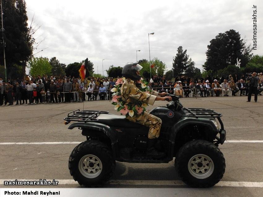 مراسم بزرگداشت روز ارتش در سرخس