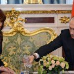 سنگ تمام پوتین برای خانم رئیسجمهور! +عکس