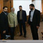 عکس/ «حاج قاسم» به مجلس رفت