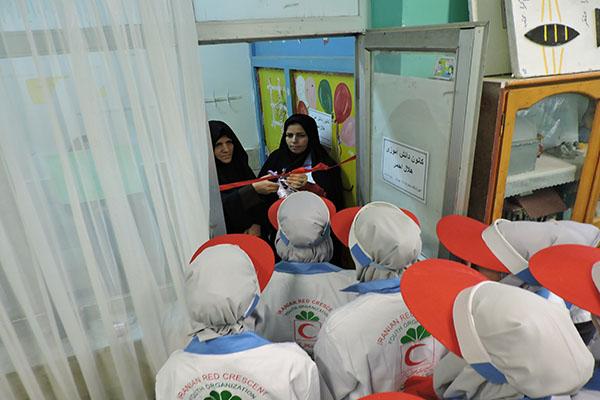 افتتاح ۵ کانون دانشآموزی هلالاحمر در سرخس