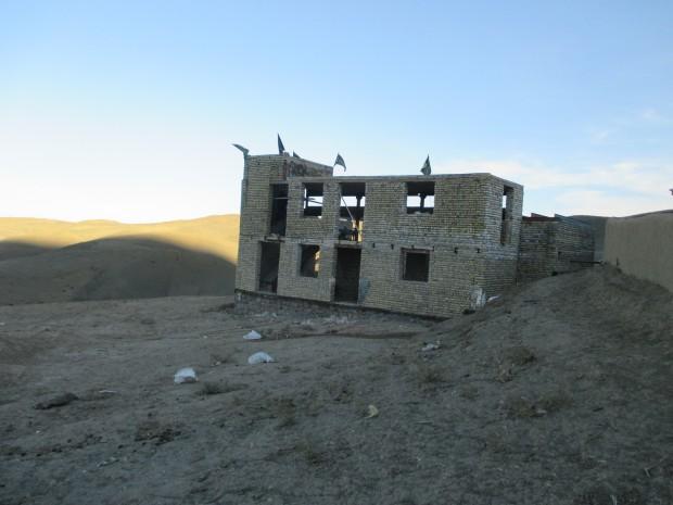 مسجد امام سجاد (ع) روستای چنار سوخته سرخس مرمت شد