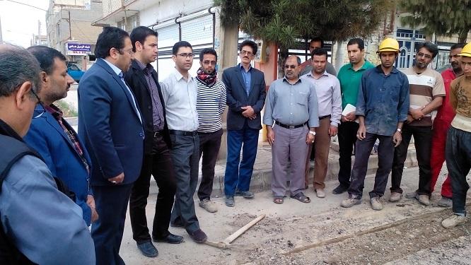 آغاز پروژه اصلاح شبکه های آب شرب شهر سرخس