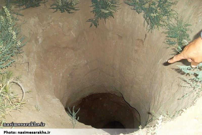 حفاریهای سریالی غیرمجاز در دهستان تجن سرخس