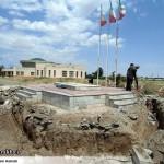 عملیات آماده سازی ساخت المان «شهدای گمنام سرخس» (10)