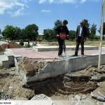 عملیات آماده سازی ساخت المان «شهدای گمنام سرخس» (12)