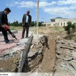 عملیات آماده سازی ساخت المان «شهدای گمنام سرخس» (13)