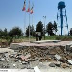 عملیات آماده سازی ساخت المان «شهدای گمنام سرخس» (14)