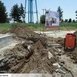 عملیات آماده سازی ساخت المان «شهدای گمنام سرخس» (15)