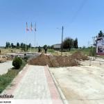 عملیات آماده سازی ساخت المان «شهدای گمنام سرخس» (16)