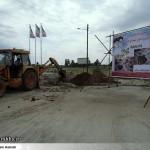 عملیات آماده سازی ساخت المان «شهدای گمنام سرخس» (3)