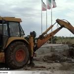 عملیات آماده سازی ساخت المان «شهدای گمنام سرخس» (4)
