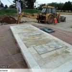 عملیات آماده سازی ساخت المان «شهدای گمنام سرخس» (5)