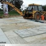 عملیات آماده سازی ساخت المان «شهدای گمنام سرخس» (6)