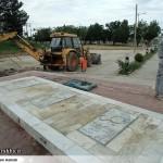 عملیات آماده سازی ساخت المان «شهدای گمنام سرخس» (7)
