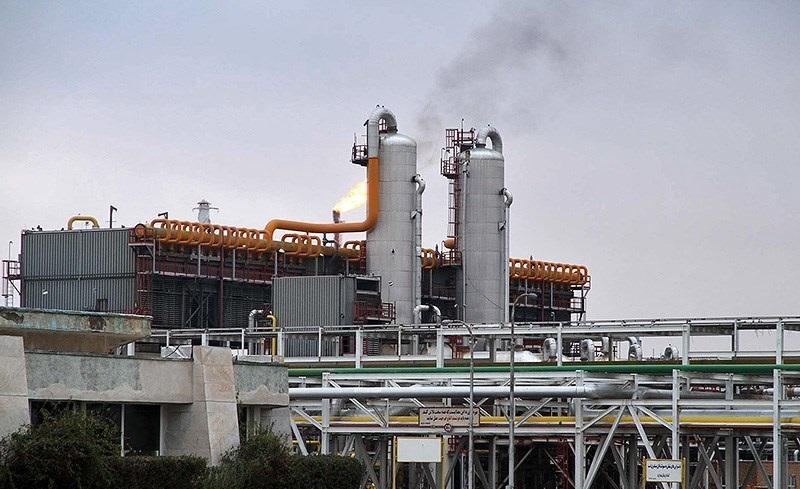 اجرای فنس مخازن محیط بیرونی پالایشگاه گاز سرخس