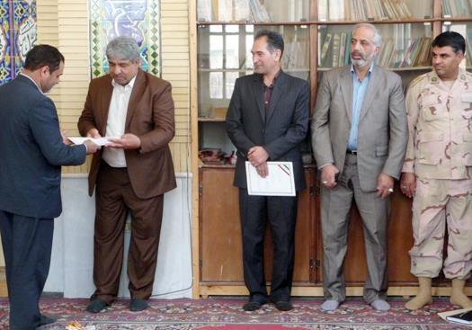 رئیس جدید اداره منابع طبیعی سرخس منصوب شد
