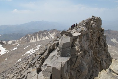 صعود کوهنوردان سرخسی به ارتفاعات علم کوه مازندران