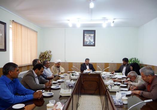 اولین جلسه شورای مشارکت های مردمی در سرخس برگزار شد