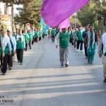حرکت زائران پیاده امام رضا (ع) از سرخس به سوی مشهد
