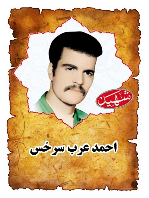 شهید احمد عرب سرخس