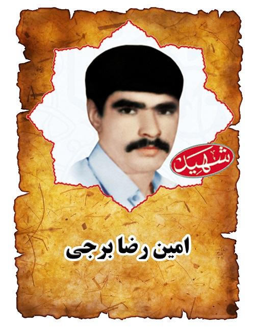 شهید امین رضا برجی