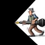 کاریکاتور/ خبرنگاری از مشاغل سخت است!