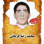 شهيد محمدرضا كرماني