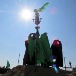 بازسازی واقعه عاشورا در شهر مرزی سرخس