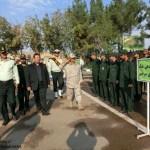 صبحگاه مشترک نیروهای مسلح شهرستان سرخس به مناسبت هفته ناجا