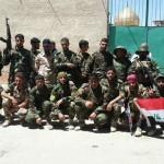 ورود رزمندگان گردانهای سیدالشهداء به سوریه+تصاویر