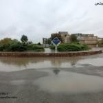 آبگرفتگی در معابر شهر سرخس کاهش یافت+تصاویر