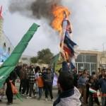 راهپیمایی یوم الله 13 آبان در شهر مزداوند+تصاویر