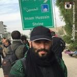 عکس/ مداحان معروف در پیاده روی اربعین 1394