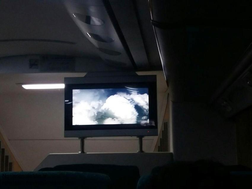 قطار دوطبقه سرخس مشهد دو طبقه (2)