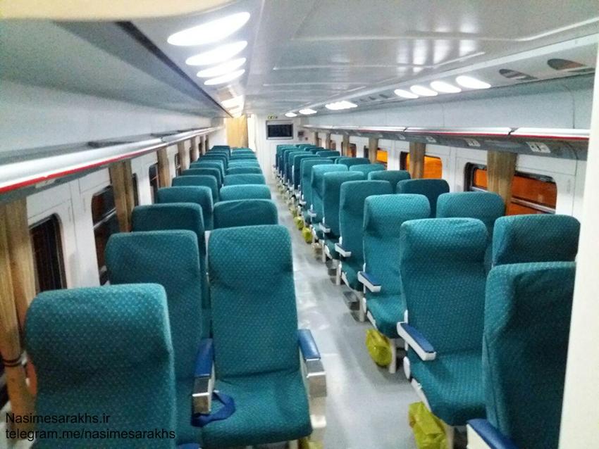 قطار دوطبقه سرخس مشهد دو طبقه (4)