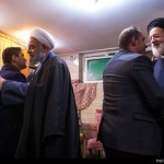 تجلیل رییسجمهور از مادر شهیدان باقری زند