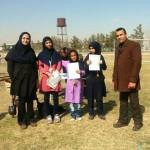 درخشش تیم دختران معلول سرخسی در مسابقات استان