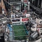 یکی از عجیبترین زمین فوتبالهای جهان +عکس