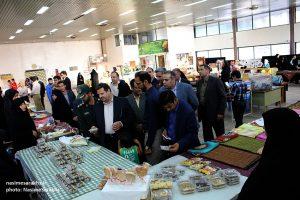نمایشگاه توانمندیهای بانوان شهرستان سرخس افتتاح شد+ تصاویر