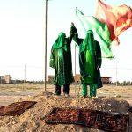 بازسازی واقعه غدیر در شهرستان مرزی سرخس