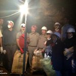 غار مزدوران شهرستان سرخس پاکسازی شد+ تصاویر