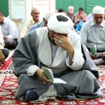 مراسم معنوی دعای عرفه در شهر مرزی سرخس