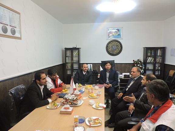 «محمد رضایی» رئیس جمعیت هلالاحمر سرخس شد