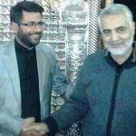 عکس یادگاری شهید خزایی کنار «سردار سلیمانی»