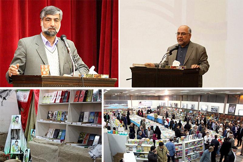 امینی: نمایشگاه کتاب سال سرخس یک رویداد مؤثر فرهنگی است/ اکبری: جامعه کتابخوان ارزانتر و کمهزینهتر اداره میشود