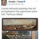 تشکر توئیتری ترامپ از عکاس ایرانی
