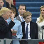 علت ناراحتی همسر ترامپ در مراسم تحلیف چه بود؟ +فیلم