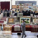 نمایشگاه صنایعدستی شهرستان سرخس افتتاح شد+ تصاویر